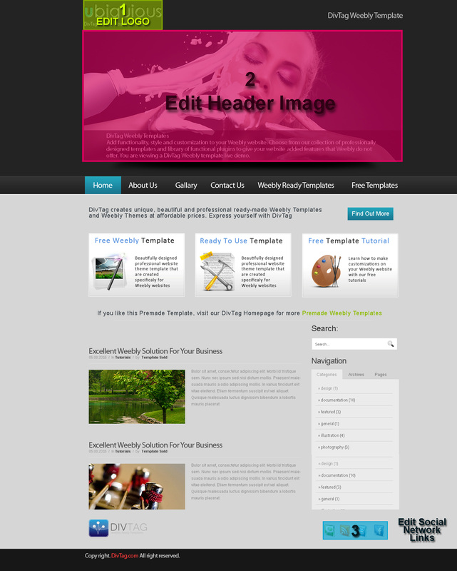 Premium weebly templates and weebly autos weblog for Free weebly themes and templates